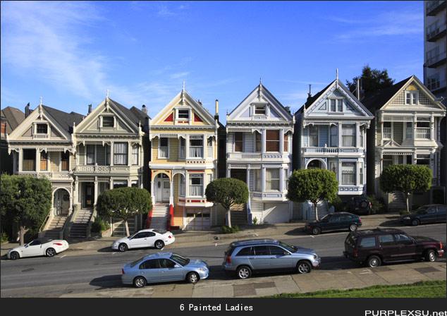 首页 -> 相册 -> 旧金山 : 6 Painted Ladies,旧金山经典 ...