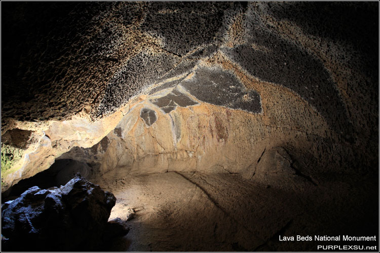 Lava Beds National Monument, Sunshine Cave