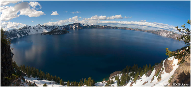 Crater Lake National Park全景