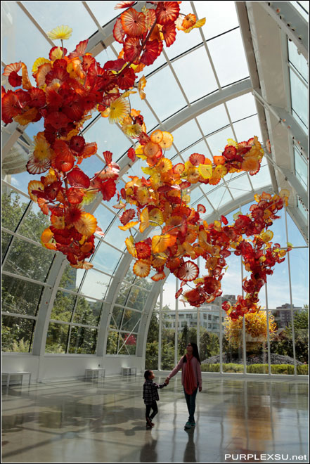 Chihuly Garden and Glass(奇胡利玻璃花园)